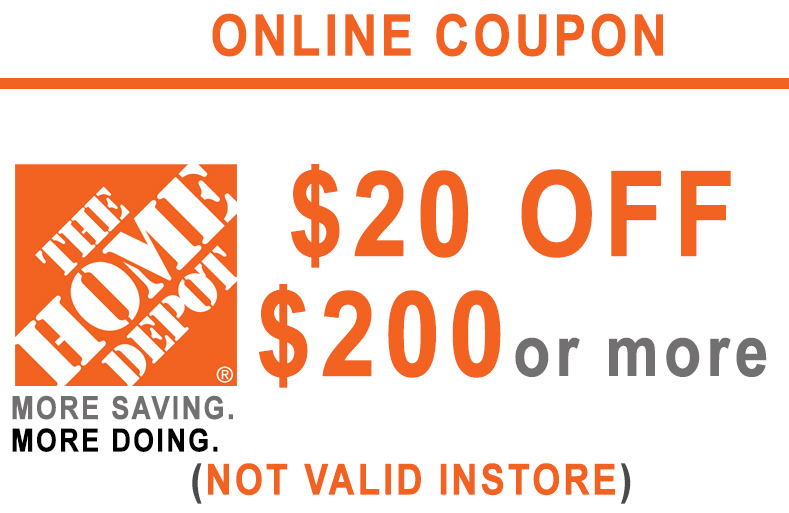 ONE (1x) $20 OFF $200 - HD ONLINE ONLY
