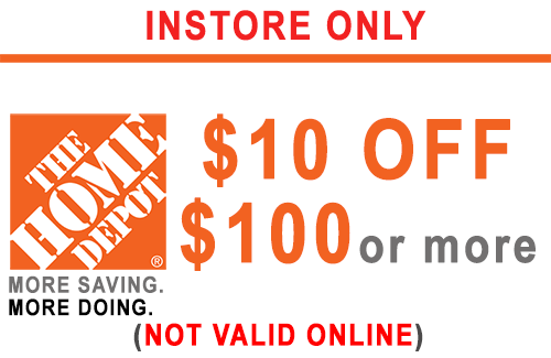 ONE (1x) $10 OFF $100 - HD PRINTABLE INSTORE ONLY